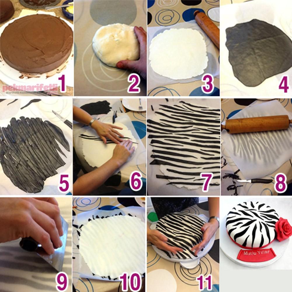 Şeker Hamurlu Pasta Yapılışı Video