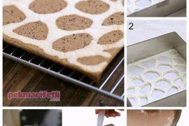 Zürafa desenli rulo pasta yapımı